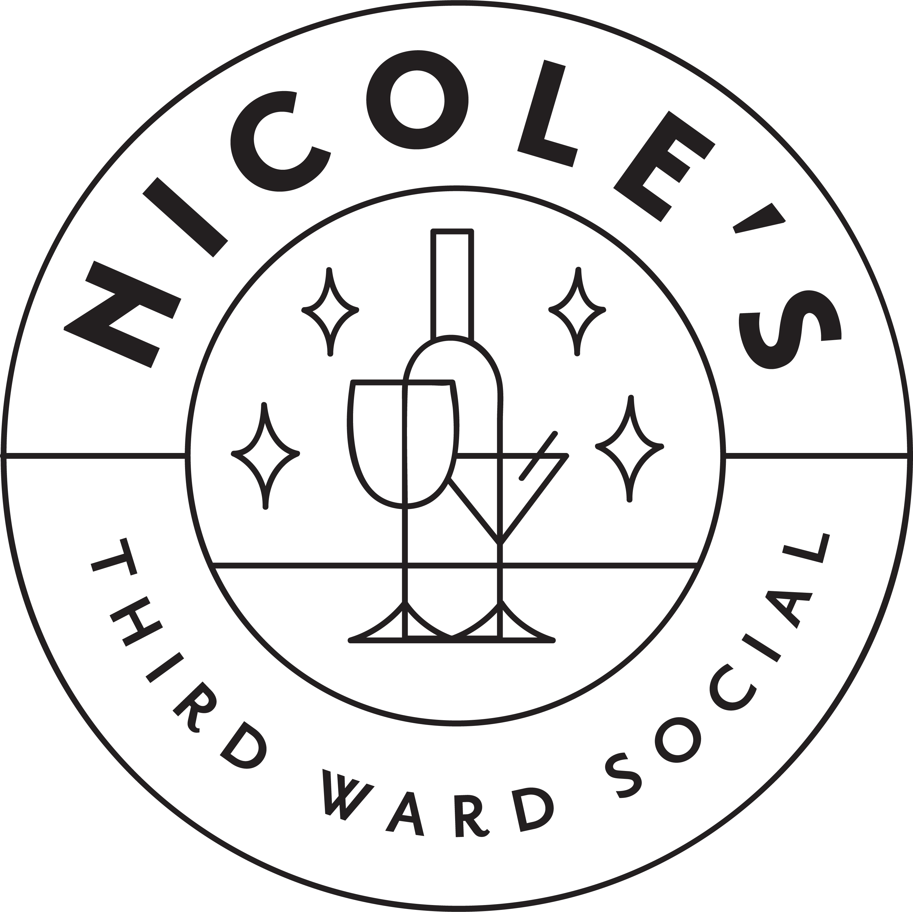 Check out our sister bar and chocolate company, Nicole's Third Ward Social, featuring Red Elephant Chocolate